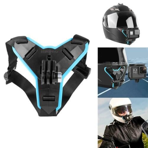 Motorcycle Helmet Chin Mount Holder for Gopro Hero 5//6//7 Action Sports Cam