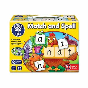Actif Orchard Toys Match & Spell Valeur Formidable