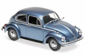 VW Volkswagen Käfer / Beetle 1302 - 1970 - bluemetallic - Maxichamps 1:43