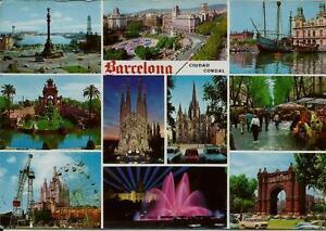 AK-0118JP-Spanien-034-BARCELONA-034-Staedteansichten-Bauwerke-Architektur-Kultur