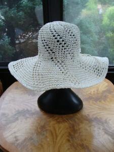 Betmar-New-York-Women-039-s-Summer-Hat-White-Color-One-Size