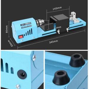 DIY Mini Wood Lathe Standard Bead Cutting Machine Drill ...