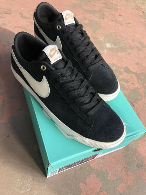 Nike SB Zoom Blazer Low GT Black White Skateboarding Fashion 704939-001 Pick Sz