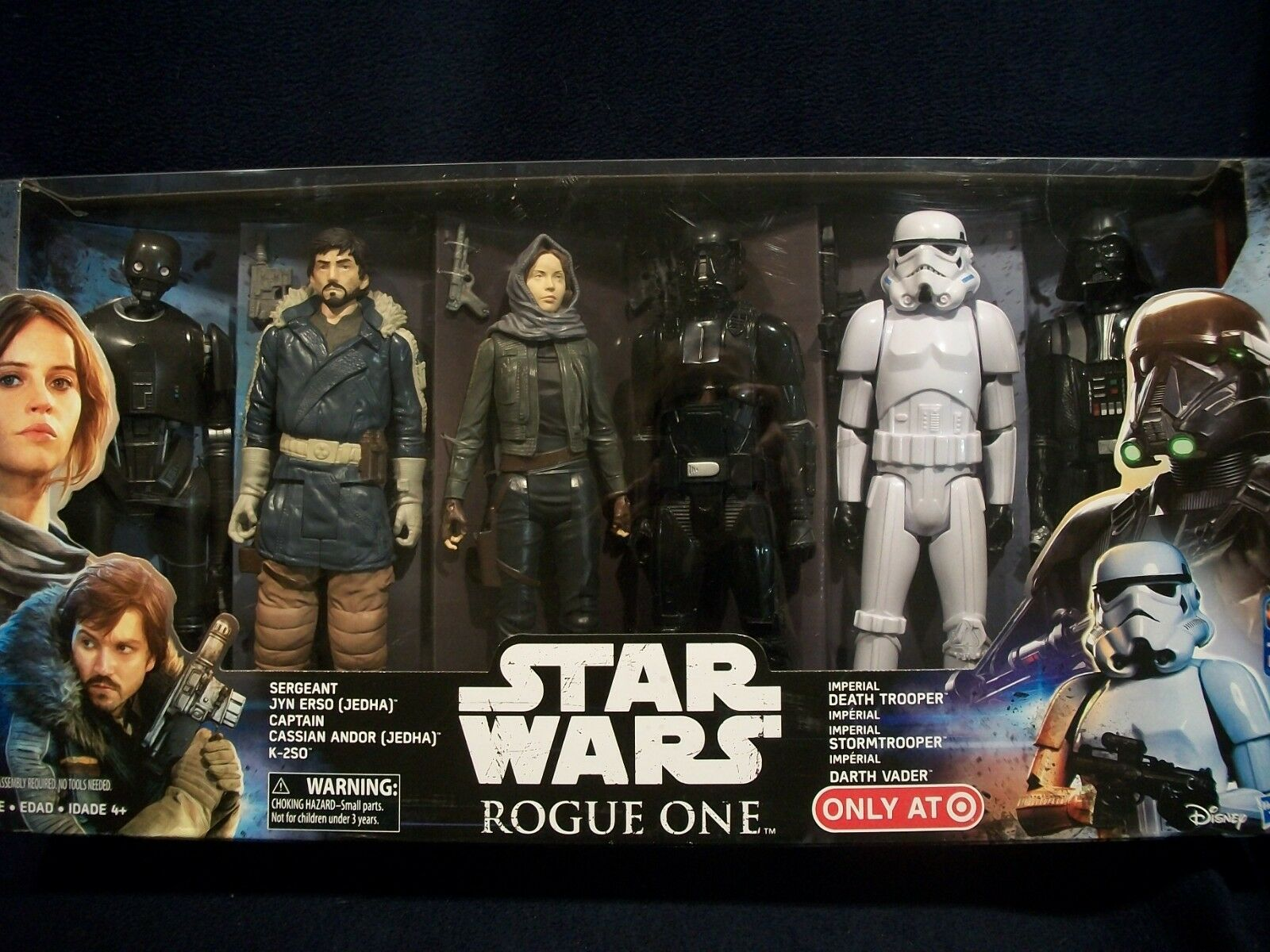 Star Wars Rogue One Action Figure 12  6-Pk Collectible Jyn Erso Target Exclusive