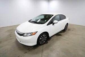 2012 Honda Civic LX Heated Seats,