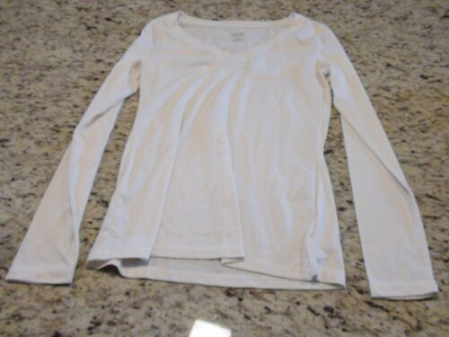 NEW Mossimo Cream Long Sleeve Womens Shirt Size XS