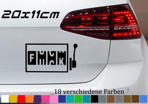 Einarmiger Bandit 20x11cm Autoaufkleber Fuck Sticker Car JDM OEM Tuning Fun GTI