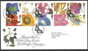 1997 Gb Fdc Greeting Stamps - 001