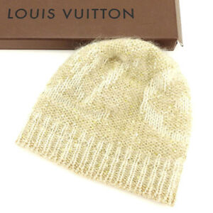 df5734dae2811 Image is loading Louis-Vuitton-hat-Beige-Woman-Authentic-Used-A1545