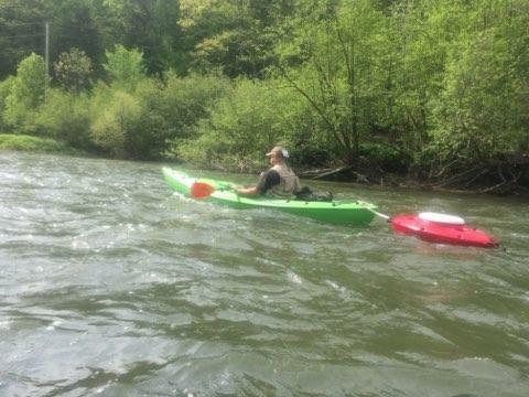 Red Open Box CreekKooler Portable Floating Insulated 30 Quart Kayak Cooler