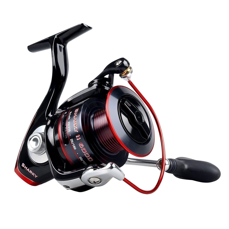 KastKing Sharky II 4000 Fishing Reel Spinning Reel 10+1 Superior Ball Bearing