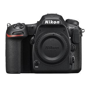 Nikon D500 20.9MP DX-Format CMOS Digital SLR Camera Body Black