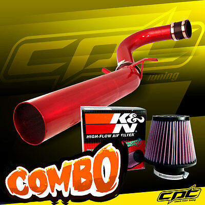 11-16 Dodge Charger/Challenger 3.6L V6 Red Cold Air Intake + K&N Air Filter