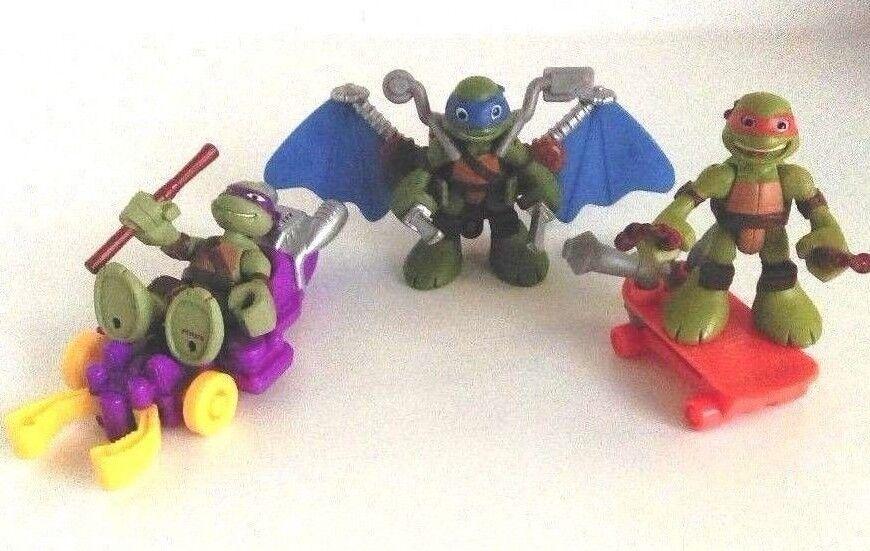 TMNT Teenage Mutant Ninja Turtles Half Shell Heroes Vehicles And Figures Set
