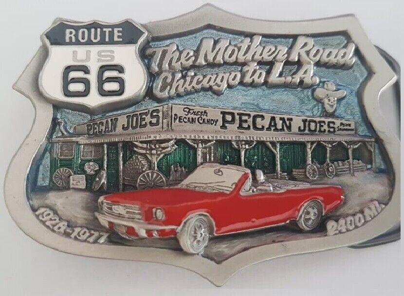 Buckle Gürtelschliesse / Route 66 The MotherRoad / Great American / USA 1997