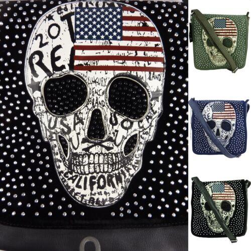 American à Skull sac à mort avec a Sac bandoulière 1077 de Sac bandoulière tête 4rBqSw4x