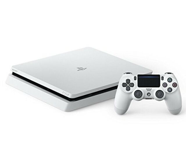 Sony PLAYSTATION 4 PS4 HDR Juego Consola Blanco 1TB CUH-2100BB02 Nuevo