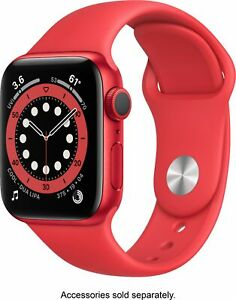 Apple Watch Gen 6 Series 6 40mm (PRODUCT)RED Aluminum - (PRODUCT)RED Sport Band