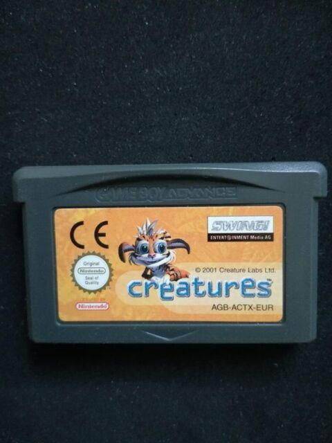 Creatures GBA JEU Game Boy Advance NINTENDO PAL EUR