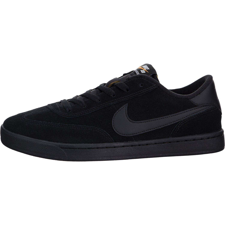 Nike SB FC Classic negro precio blanco naranja intenso Skate precio negro de descuento reducción zapatos de hombre 4df048