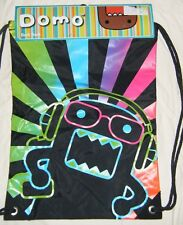 Officially Licensed DOMO Headphones BEATS Back Sack Book Bag BRAND NEW!!