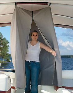 Pontoon Boat Easy Up Privacy Partition Enclosure 30 Quot X 30