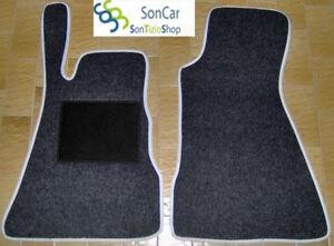 2 block SMART ForTwo TAPPETI tappetini AUTO su MISURA