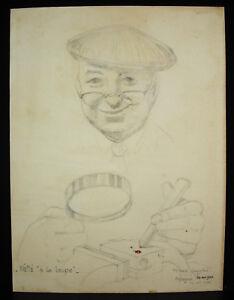 P Grosjean Peintre Du Cher Néné à La Loupe 30 Octobre 1964 Iyez3kqe-10102831-653786626