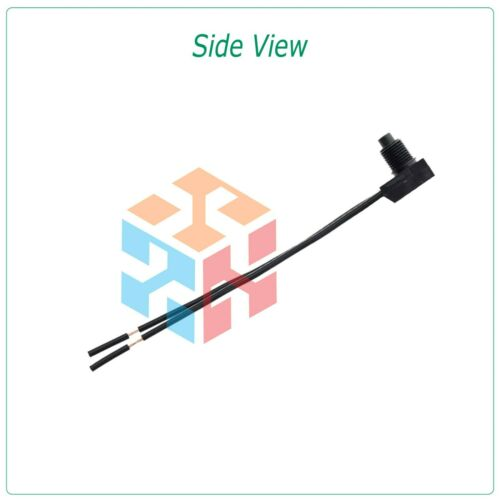 """2pcs 12V 4/"""" Wire Leads Waterproof On-Off Push-Button Switch for Motorcycle Car"""