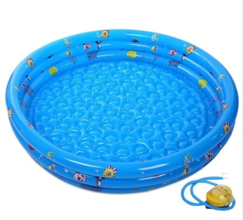 New SUMMER SEA SWIMMING Inflatable POOL for Kids Children/'s Baby toys with Pump
