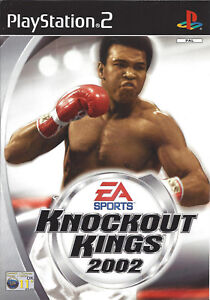 KNOCKOUT-KINGS-2002-for-Playstation-2-PS2-with-box-amp-manual-PAL
