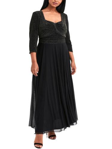 LUREX robe de soiree robe robe de bal robe Scarlett /& Jo noir 52 54 56 58 60