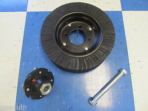 Bush Hog Wheel Assembly W Heavy Bearing Style Tailwheel