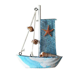 2x-Ocean-Sea-Fishing-Net-Sailing-Mediterranean-Ornament-Home-TABLETOP-Decor