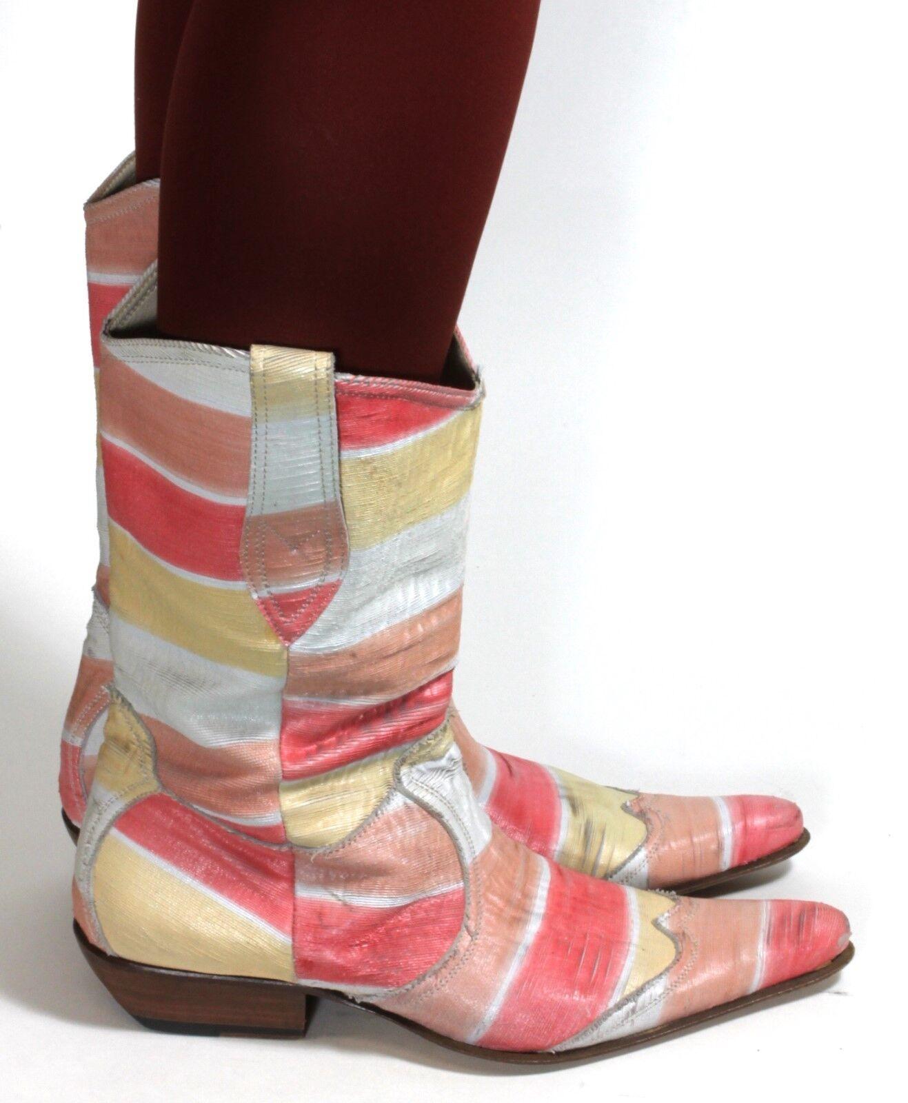 Damenstiefel Vintage Stiefeletten Stiefel Westernstiefel spazioDamens 39 Zipper 39 spazioDamens 6f8879