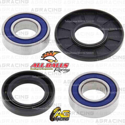 All Balls Front Wheel Bearings /& Seals Kit For Honda CR 500R 1989 Motocross