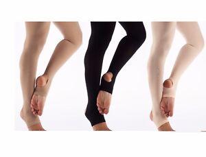 048c28ee138fcc Image is loading Women-Ladies-Matte-Stirrup-Dance-Tights-Stirrup-Foot-