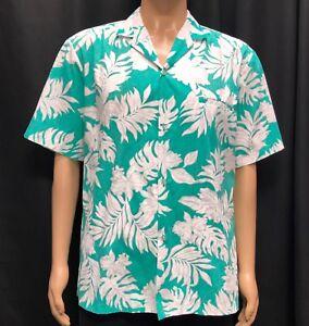 fde7186e Image is loading Vintage-Royal-Creations-Hawaiian-Shirt-Mens-Large-Sea-