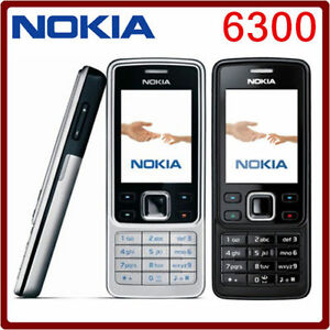 New-Condition-Nokia-Brand-6300-Black-Unlocked-Camera-Simple-Classic-Mobile-Phone