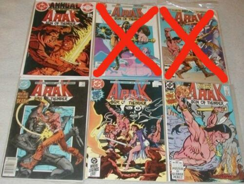 Arak Son of Thunder U-PICK ONE #31,39,41,43,44 or Annual #1 PRICED PER COMIC