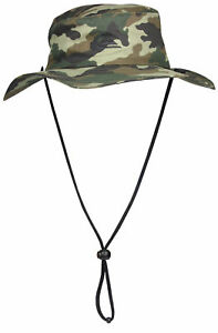 Image is loading Quiksilver-Mens-Bushmaster-Safari-Bucket-Hat-Camo-Large- 0e00637d48d