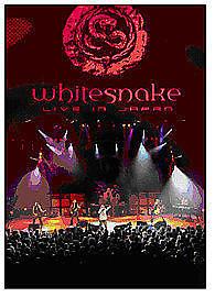 Whitesnake - Live In Japan (DVD, 2007).deleted OOP,GENUINE SHOP ISSUE.ALL REGION