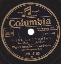 Orchester Miguel Rosario mit Kastagnetten-Solo : Ojos Espanoles + Que ha pasado