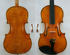Amazing Violin!Master's Own Work!200-y Old Spruce No.W31