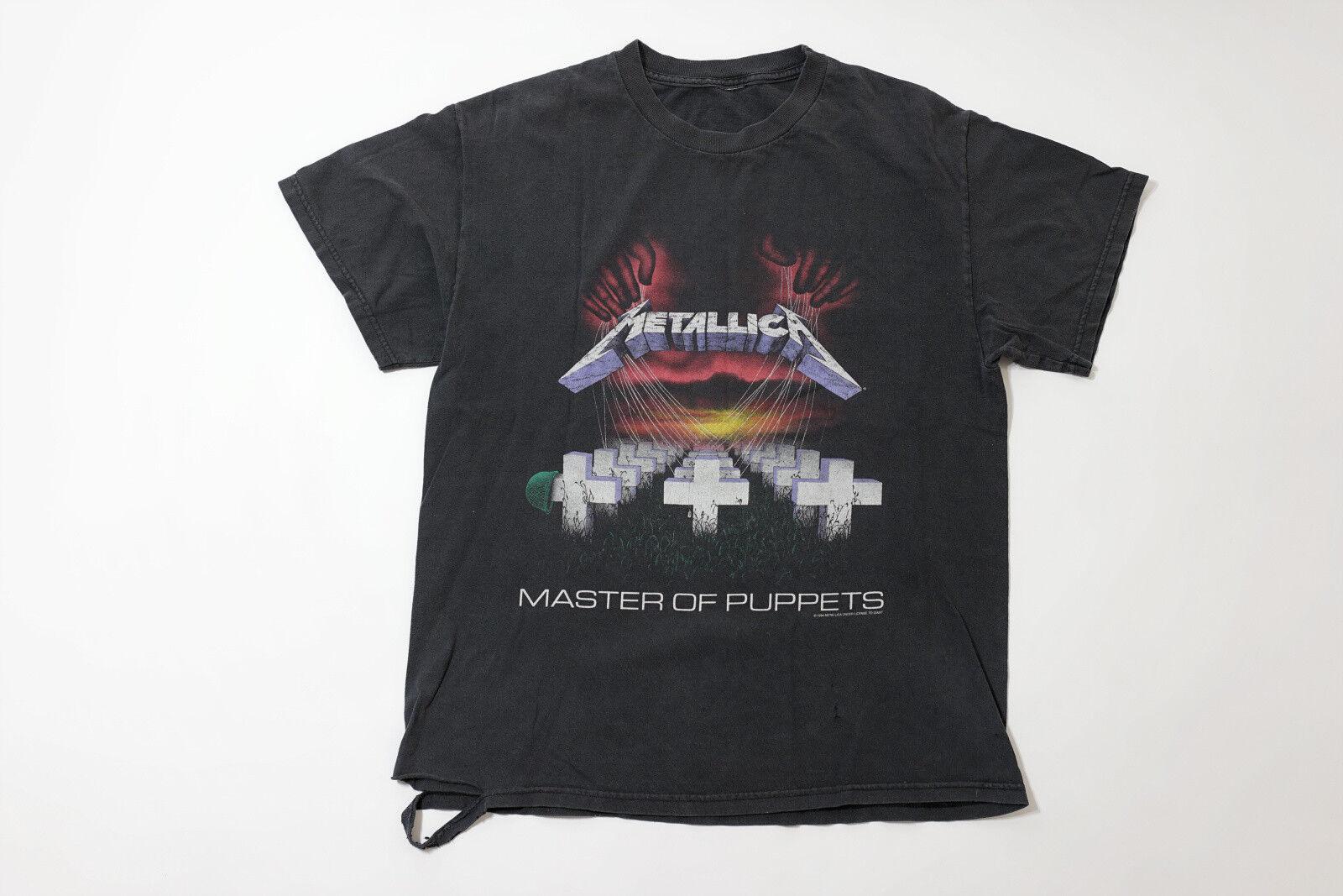 Vintage Metallica Master Of Puppets T Shirt Giant 90s VTG 1994 Größe Large L
