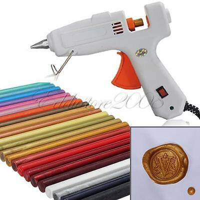 Wax Seal Stamp Melting Gun For Sealing Wax Initial Envelope Invitations Sticks