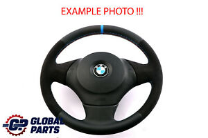 BMW 1 Il E81 E87 E88 Neuf Cuir / Alcantara Comme M-SPORT Volant Tris Couleurs