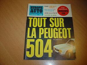 Europe-Auto-N-15-Mercedes-220-BMW-1600-Ti-Renault-16-TS-Cortina-E