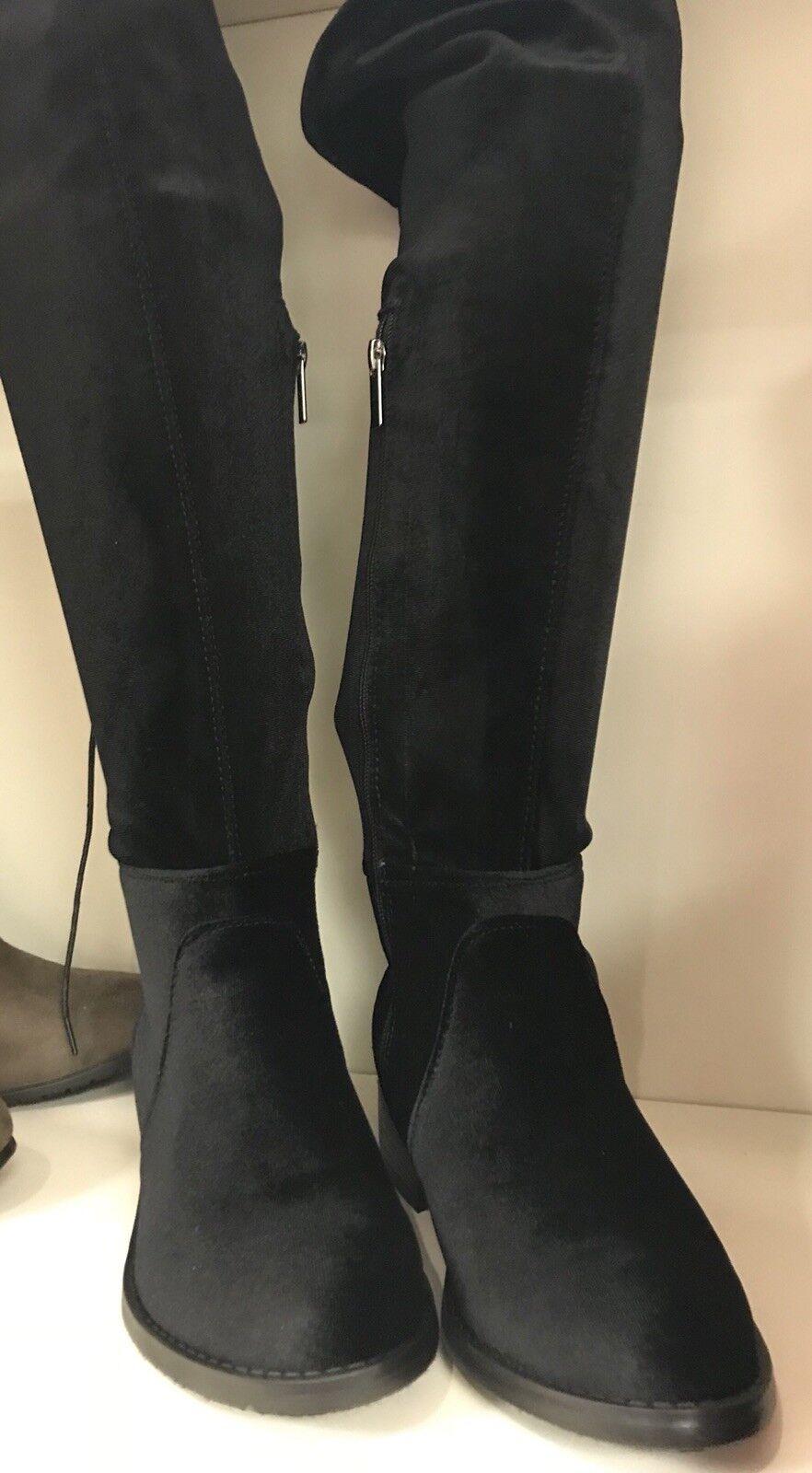Avenue Damenschuhe Suede Over The Knee Stiefel 12w