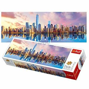 Trefl 1000 piece panorama adult manhattan new york large for Activities for adults in nyc